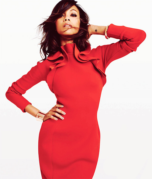 Zoe Saldana for Gotham Magazine