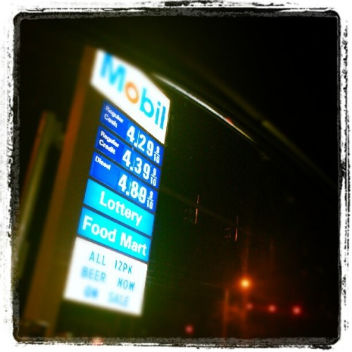 Holy crap! Gas is so expensive in #Chicago! A little bit more expensive than #California. #gasprices #gas #price #expensive #igers #instagramers #instadaily #economy #fuel #cars  (Taken with Instagram)
