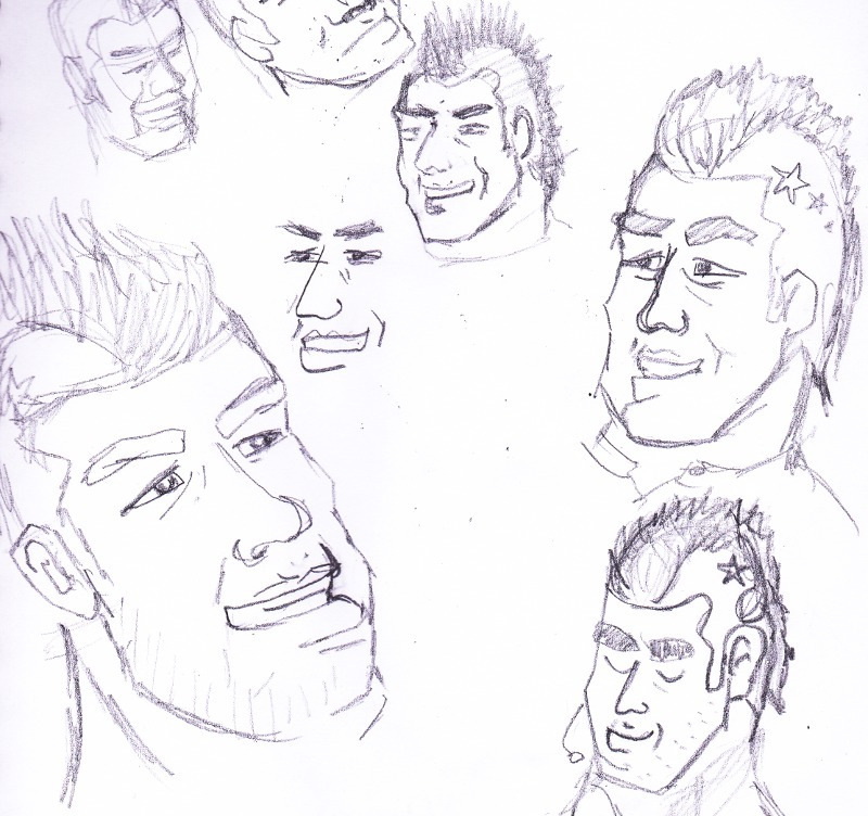 Bobak Sketches