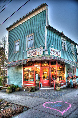 105 year-old Arbutus Coffee building to be honored this weekend with plaque & party