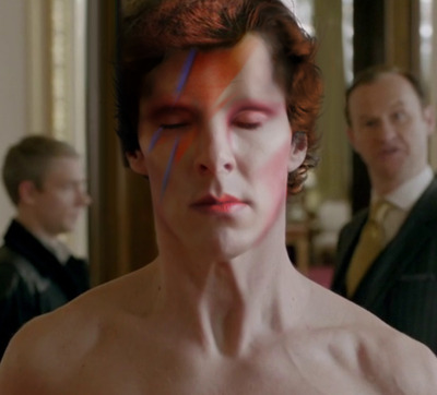 barachiki:   Mycroft hated it when Sherlock dressed as David Bowie.