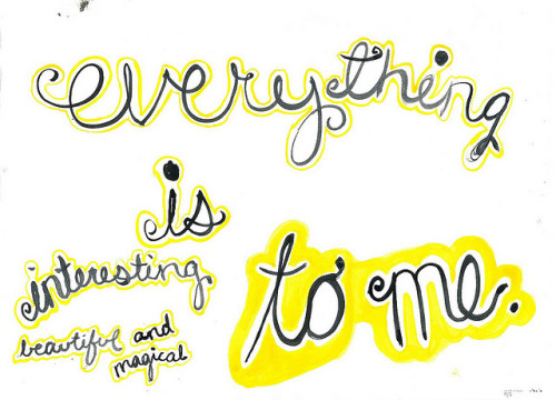 everything to me by hannah henrie on Flickr.