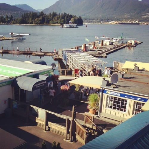 Proper #Canadian airport. (Taken with Instagram at Harbour Air Seaplanes / Westcoast Air)
