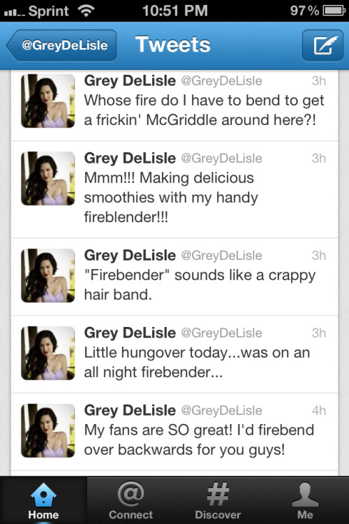 beinghipsteristoomainstream:  Grey DeLisle part 2/2