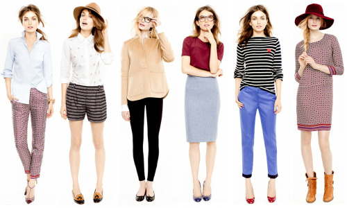 J. Crew Looks We Love August 2012