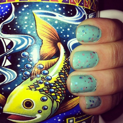 #nails #coffee #mug (Taken with Instagram)
