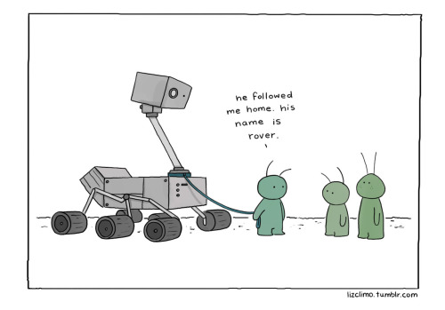 lizclimo:  martian's best friend