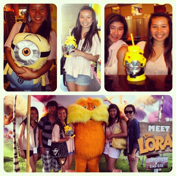 Universal studiooos yesterdaaay! (Taken with Instagram)
