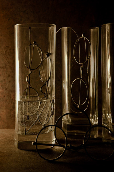 yama-bato:  Stephen Blackstone Glasses in Glasses (Alphabet Series #2-G) - June 26, 2010, via
