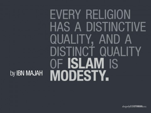 intessar:  modesty in every aspect :)