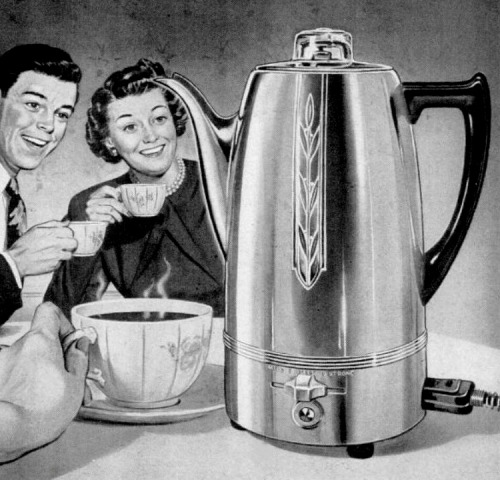The Joyous Coffee Percolator