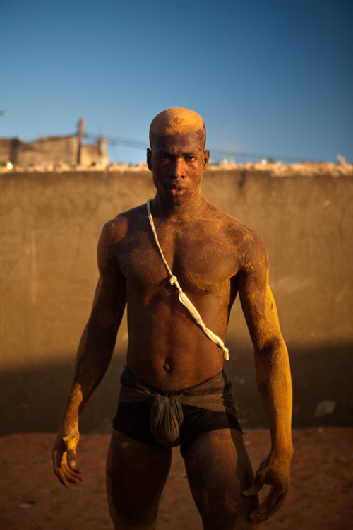 africanstories:  Traditional Senegalese wrestlers