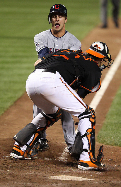 "oriolesnest:  jonesyeatingribs:  midith:  thebuttsofbaseball:  Matt Wieters of the Baltimore Orioles With a bonus derp face  Yes. This. This is awesome.  ""excuse me would you mind moving out of the way sire""   Matt Wieters is a huge, huge dude."