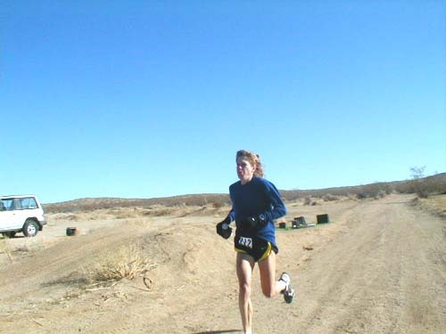 """…she liked to tell them that running huge miles in the mountains was ""very romantic"". Gotcha. Grueling, grimy, muddy, bloody lonely trail-running equals moonlight and champagne. But yeah, Ann insisted, running was romantic, and no,  of course her friends didn't get it because they'd never broken through. For them, running was a miserable two miles motivated solely by size 6 jeans: get on the scale, get depressed, get your headphones on, and get over with…Relax though, and your body becomes so familiar with the cradle-rocking rhythm that you almost forgot you're moving. And once you break through to that soft, half-levitating flow, that's when the moonlight and champagne show up. ""You have to be in tune with your body, and know when you can push it, and when to back off."" (McDougall, 2009 : 68-9) (McDougall, C. 2009. Born to Run. London: Profile Books LTD.)"