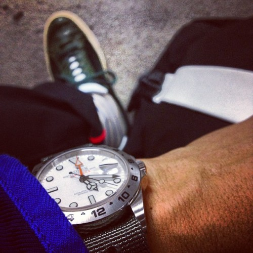 NATO/ZULU time somewhere..  (Taken with Instagram)