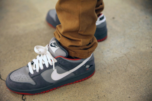 nerdlikejazzy:  The Pigeon SB's will never get old. #sneakerhead