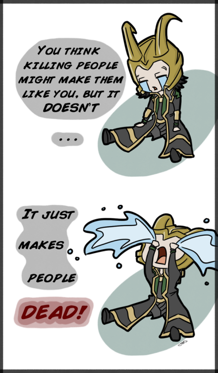 writtenmelody12:  A Very Loki Musical by *JazzySatinDoll poor Loki