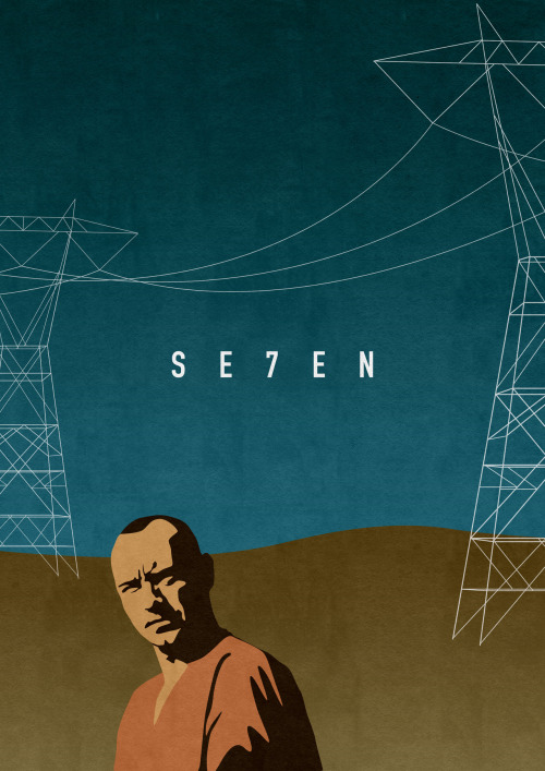 Se7en by Oliver Shilling Prints available here