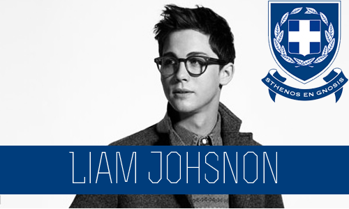 Liam Johnson | Junior | Graphic Arts Major | FC: Logan Lerman  Liam Johnson grew up in the big, bustling city of New York. In the big city with well-known parents Liam was often pushed to the side and forgotten, at home and at school. Liam was raised by nannies, who were fired and hired all the time. After a while he stopped trying to learn their names and he called them all Helga. Liam spent 50% percent of his time at home in his room. He read a lot of books and watched a lot of sci-fi movies. His favorite was Star Wars and he often would pretend he was Luke Skywalker so he wouldn't have to deal with his problems. The other 50% of his time was spent on various sports fields. His parents knew that if he was at practice and games all the time then they wouldn't have to deal with him. He was in basket ball, baseball, tennis, soccer, golf, swimming, anything his parents could stick him in. Even with being on all the sports teams at school he was still considered the nerd. He had no friends and the jocks picked on him more than they did anyone else.  If you compared Liam Johnson to the person he was when he first entered Connor U and to who he is now, physically you wouldn't know they were the same person. When he was a freshmen, he had the appearance of a total nerd. He wore glasses and dressed weird. He also had a major obsession with Star Wars. He wanted to join Beta Gamma Omega but they rejected him do to his appearance. With no where else to go, he was convinced by some Simga members to join. And he did. He found that he really fit in there. He got along with a few Zeta girls and they give him a makeover so he could be a average college guy. Beta Gamma Omega wanted him after he was transformed into what they were looking for but he decided to be loyal to Sigma since he fit in with them.