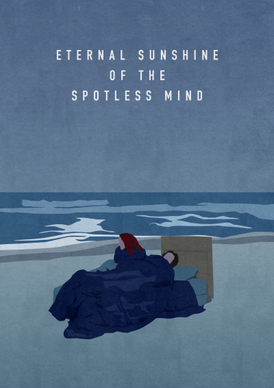 fuckyeahmovieposters:  Eternal Sunshine of the Spotless Mind by Oliver Shilling  I LOVE THIS ONE!