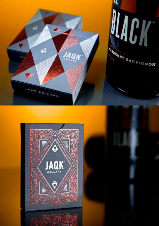 serialthrillerinspiration:  JAQK Signature Playing Cards