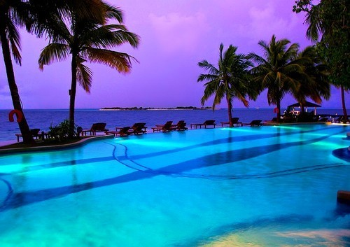 Beautiful things / dreaming of this pool on We Heart It. http://weheartit.com/entry/35111708