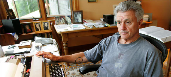 "JOHN IRVING: On Writing I am compulsive about writing, I need to do it the way I need sleep and exercise and food and sex; I can go without it for a while, but then I need it. I resented having to teach and coach, not because I disliked teaching or coaching or wrestling but because I had no time to write. Along the (writing) way accidents happen, detours get taken… But these are not ""divine"" accidents; I don't believe in those. I believe you have constructive accidents en route through a novel only because you have mapped a clear way. If you have confidence that you have a clear direction to take, you always have confidence to explore other ways; if they prove to be mere digressions, you'll recognize that and make the necessary revisions. The more you know about a book, the freer you can be to fool around. The less you know, the tighter you get. I'm old-fashioned, a storyteller. I'm not an analyst and I'm not an intellectual. I write very quickly; I rewrite very slowly. It takes me nearly as long to rewrite a book as it does to get the first draft.  You bet I write disaster fiction. We have compiled a disastrous record on this planet, a record of stupidity and absurdity and self-abuse and self-aggrandizement and self-deception and pompousness and self-righteousness and cruelty and indifference beyond what any other species has demonstrated the capacity for, which is the capacity for all the above. I am not attracted to writers by style. What style do Dickens, Grass, and Vonnegut have in common? How silly! I am attracted to what makes them angry, what makes them passionate, what outrages them, what they applaud and find sympathetic in human beings and what they detest about human beings, too. They are writers of great emotional range. Excerpts taken from The Paris Review Image from The New York Times Compiled by Amanda Patterson"