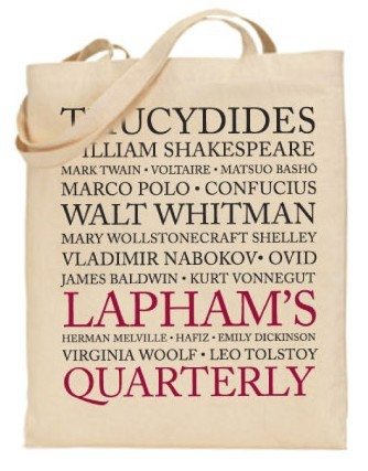The Lapham's Quarterly Tote Bag