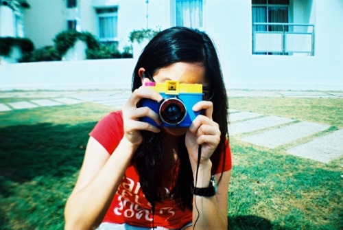 Lomography Home of the Day - xephyrus This man sees his future with analogue. Not a bad prediction, brother! So we all just have to keep our Lomographic cameras with us and shoot as much as we want.