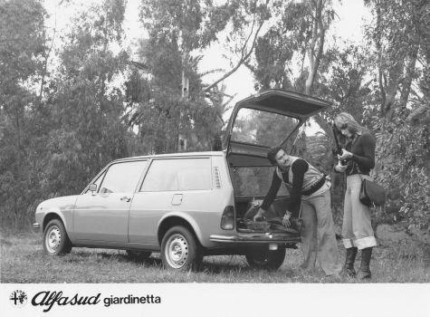 wagonation:  Giardinetta getting its shooting-brake on, literally.