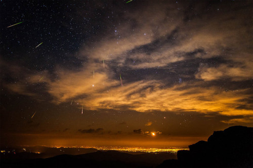 Meteor Shower in Denver- Colorado