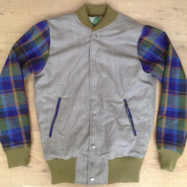 Norfolk check and tartan. Certainly a bold choice, camo reverse as well #bespoke #houseofbilliam #canyoudobetter £225 (Taken with Instagram)