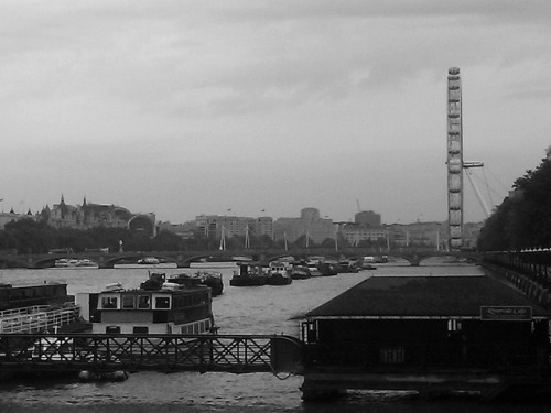 Fading memories on Flickr. Goodbye London in black and white