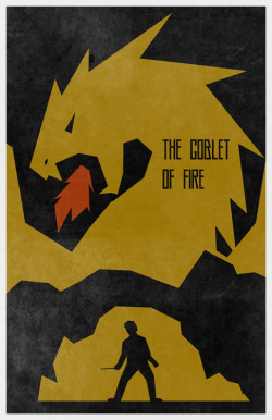 minimalmovieposters:  Harry Potter series by Travis English