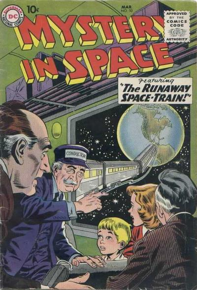 comicbook-scifi:  Mystery in Space #50