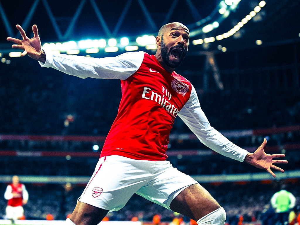 zefa22:  Happy B'day Arsenal Legend, Thierry Henry!! For you, Arsenal's always Home.