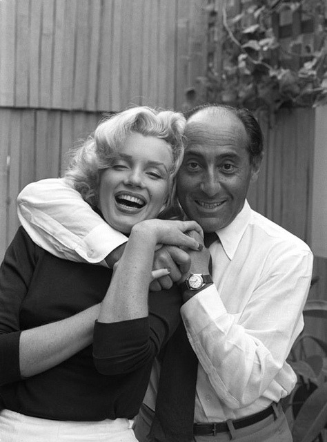 Marilyn Monroe and Alfred Eisenstaedt. on Flickr.