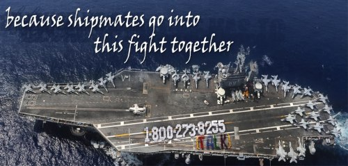 americas-liberty:  youmatterlifeline:  Over 1,400 Sailors on board the Nimitz-class aircraft carrier USS Dwight D. Eisenhower (CVN 69) spent a few hours to send an important message to their shipmates across the Navy. They spelled out the National Suicide Prevention Lifeline number on the aircraft carrier flight deck to remind their shipmates to speak up when they need help - because shipmates go into this fight together.     guard,honor,duty,sacrifice,suicide,awareness,PTSD,