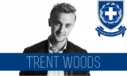 Trent Woods | Senior | Mathematics Major | FC: Tom Felton  The Woods are a well-known name around Connor University. They are the family that the University goes to when in need of a donation or money in general. This is why Trent basically gets away with whatever he desires. He was the first in his class to be accepted to Connor U. During his freshman year, he had all the fraternities going after him, some because of his name, money and his personality. The fraternities knew that if they scored Trent Wood that their house would be set for as long as he attended school there so basically Trent had his pick, as each house did their best to sway him. He ultimately settled with Sigma Chi Delta; because of the wild parties they throw. He also knew this was the house the most fun was at after hearing stories of the crazy parties they tend to throw. He's athletic and can be seen around campus running or playing intramural sports for Sigma Chi Delta. He is one of the better athletes and can score any girl he wants. He is known for being a ladies man, but that doesn't mean he has a heart of gold, he has a bit of a wild side to him when it comes to dating. He does whatever it takes to score a girl and currently he has his eyes set on a certain Theta. Trent has his eyes set on, Macee King who is a senior. Of course he knows Macee won't admit to liking him but it doesn't stop him from checking her out. He isn't shy about it either and he can tell that she likes it. Even with other girls falling at his feet, Trent merely looks them over and heads in the direction he thinks Macee will be at.  Little brother to Wesley Rowe Big brother to Brett Klein