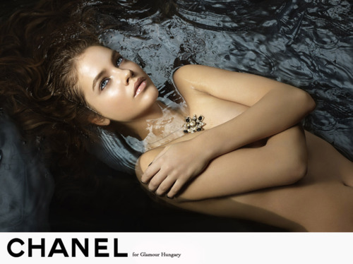 "Palvin was discovered on the streets of Budapest in 2006 at the age of 13. She shot her first editorial that year for Spur Magazine. Palvin subsequently moved to Asia where she continued a steady stream of bookings. Since then, Palvin has been on the cover of L'Officiel, Vogue Russia,Glamour Hungary and Jalouse Magazine, and has modeled for Armani Exchange, H&M, Victoria's Secret, and Pull and Bear. In February 2012, she became an ambassador for L'Oreal Paris. Her runway debut was as an exclusive for Prada during Milan Fashion Week in February 2010.[3]Palvin has also walked for Louis Vuitton, Miu Miu, Nina Ricci, Emanuel Ungaro, Christopher Kane,Julien MacDonald, Jeremy Scott, Vivienne Westwood, Etro and opened the pre-Fall 2011 Chanelshow. Palvin is ranked 40 on the Top 50 Models Women list by models.com. Palvin is often compared toRussian model Natalia Vodianova; British Vogue editor Miranda Almond said, ""We chose Barbara because she is absolutely exquisite looking a cross between a young Brooke Shields and Natalia Vodianova"". Palvin credits Vodianova and Kate Moss as her favorite models."