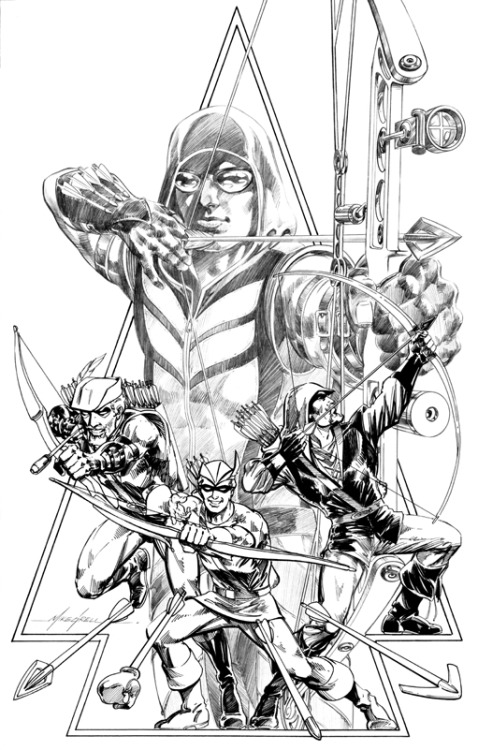 browsethestacks:  Green Arrow by Mike Grell