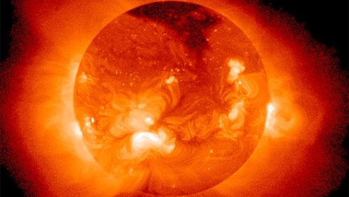 mothernaturenetwork:  Why the sun has a weird shapeScientists believe that since the sun is a bit too round to fit previously theorized notions of its rotation that they don't fully understand its magnetic forces.