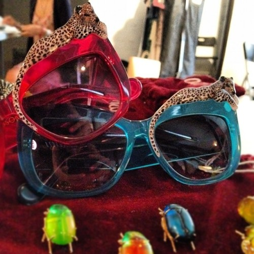 modaoperandi:  Shades for a Casual Friday… (Taken with Instagram)