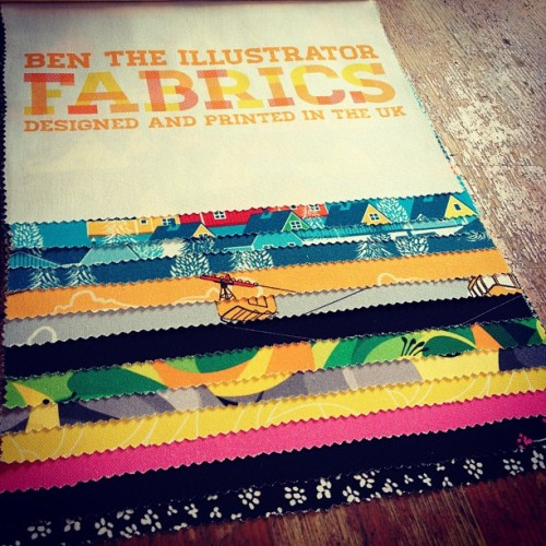 The first complete fabric book. Done. Fabrics, lampshades and cushions on sale soon!