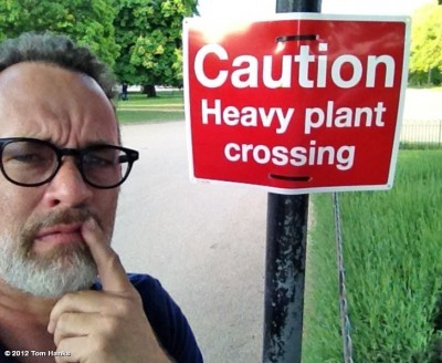 Even Tom Hanks is confused by this… via Funny Signs, photo taken by Tom Hanks