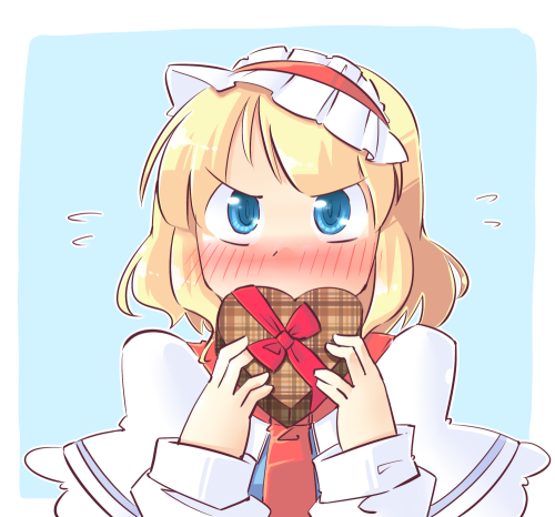 A tsundere Alice by Arnest.