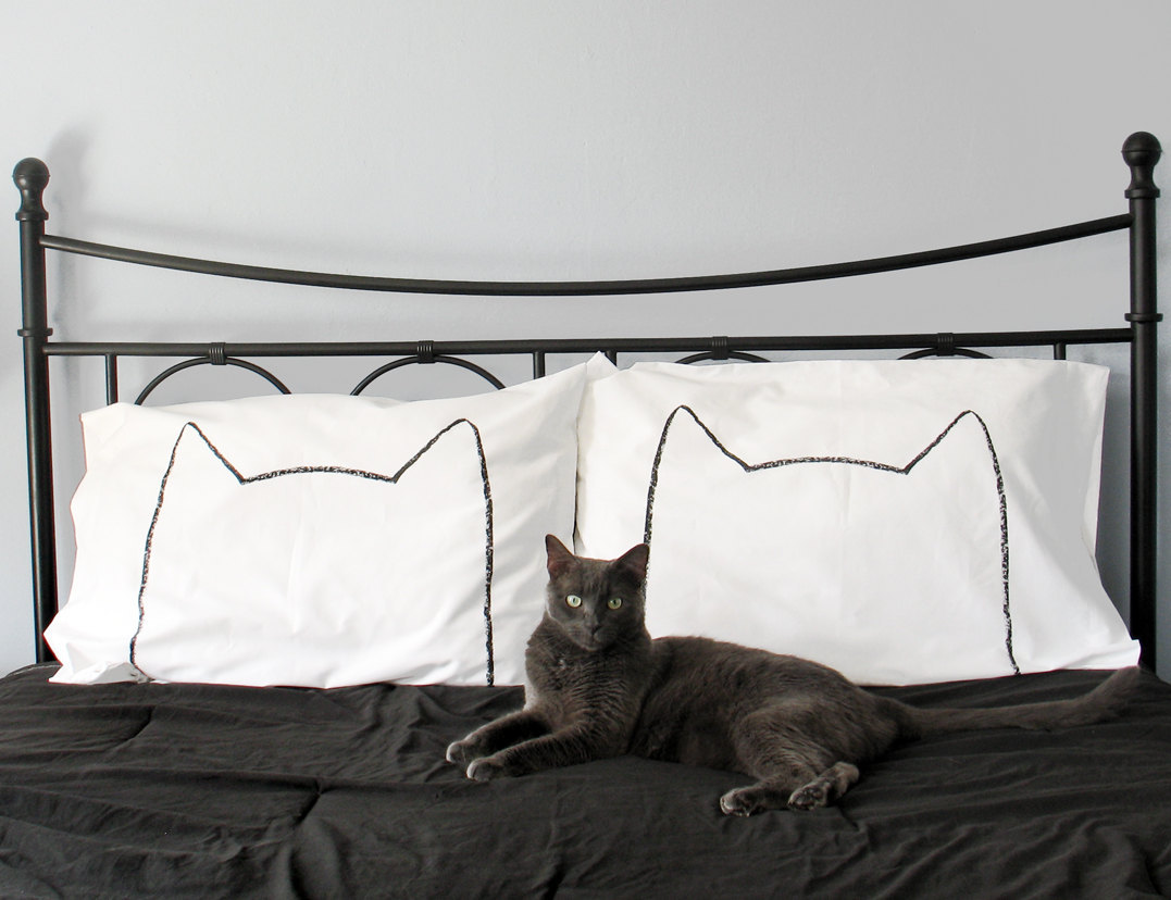 Cat Nap Pillow Photo via Etsy