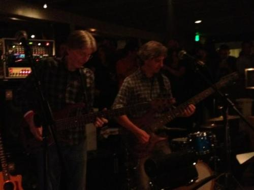 Phil & Mike jamming together last night at Terrapin Crossroads!