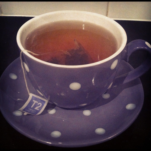 Tea = happiness.