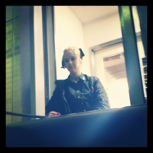 Cheers for the maccas woman. (Taken with Instagram)